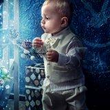 сказочная фотосессия на новый год для малыша