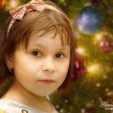 детское фото на новый год